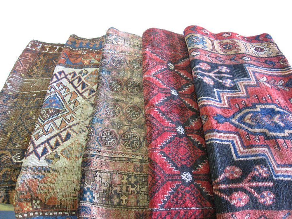 Assorted Small Rugs