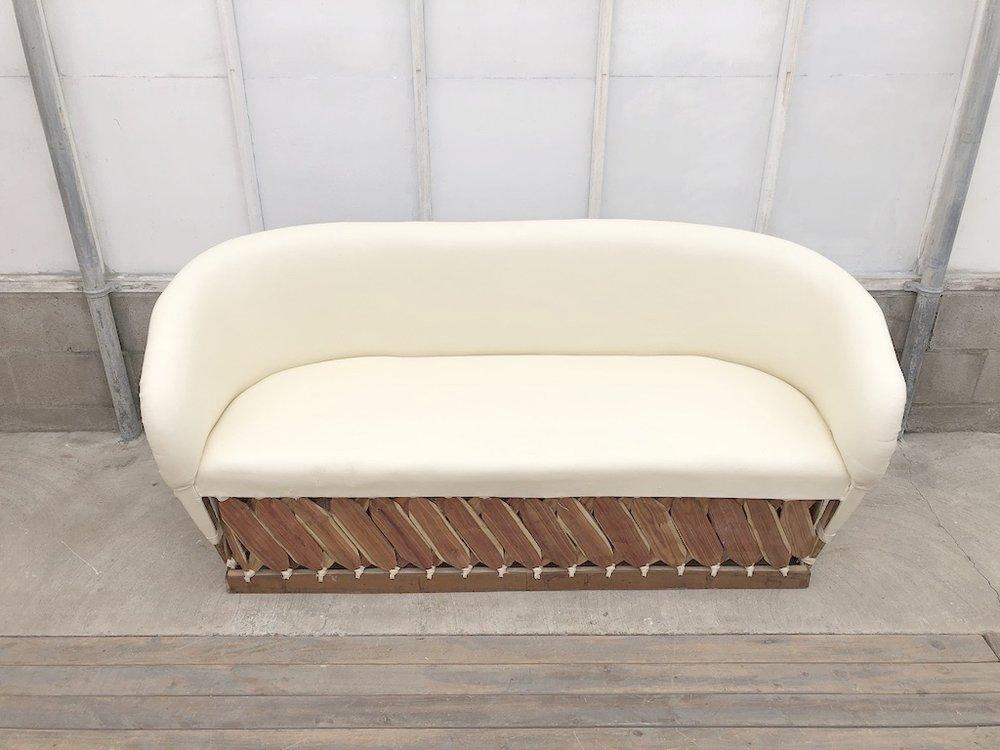 Lg Ivory Sofa