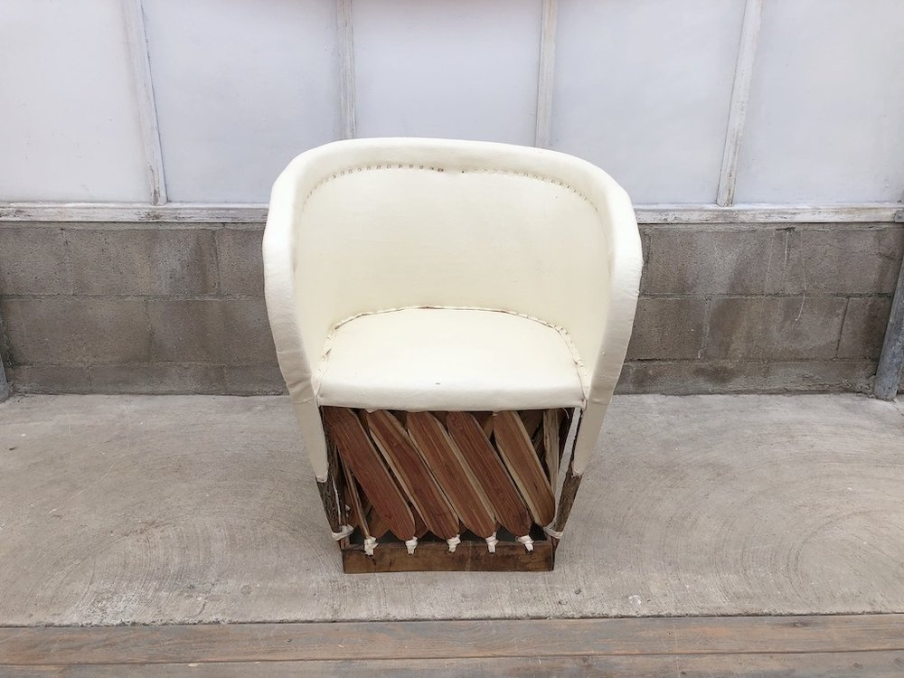 Ivory Equipales Chair