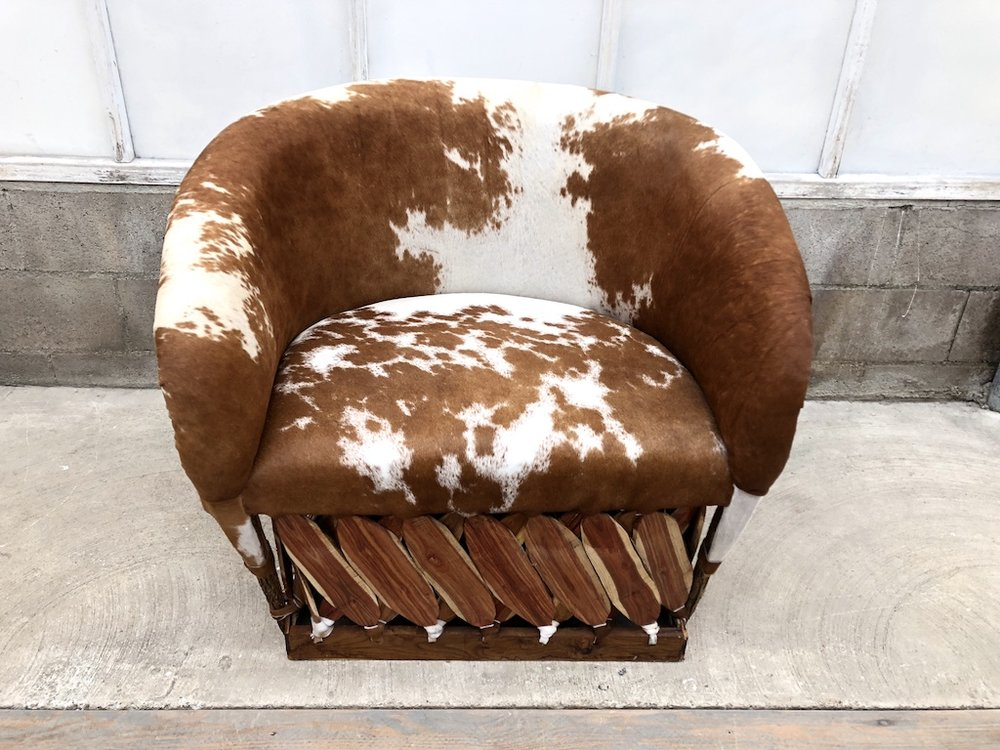Cow Hyde Lounge Chair