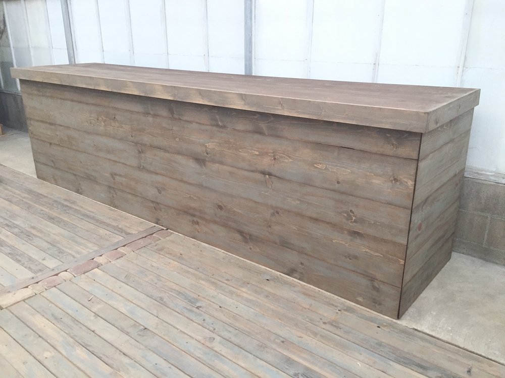 12' Weathered Bar