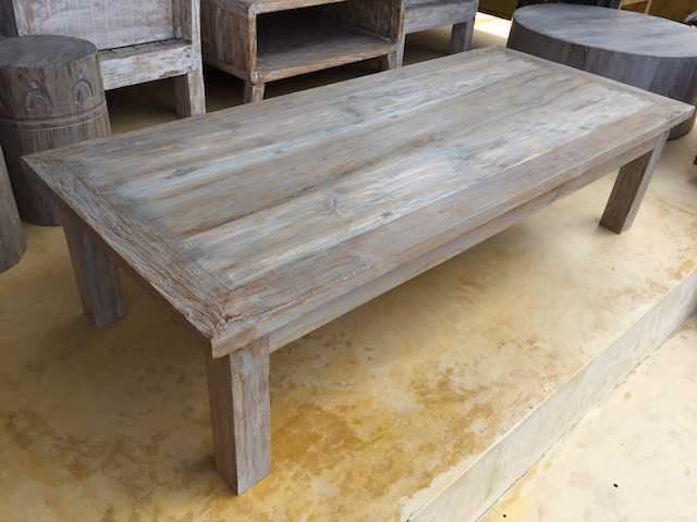 Large Weathered Coffee Table