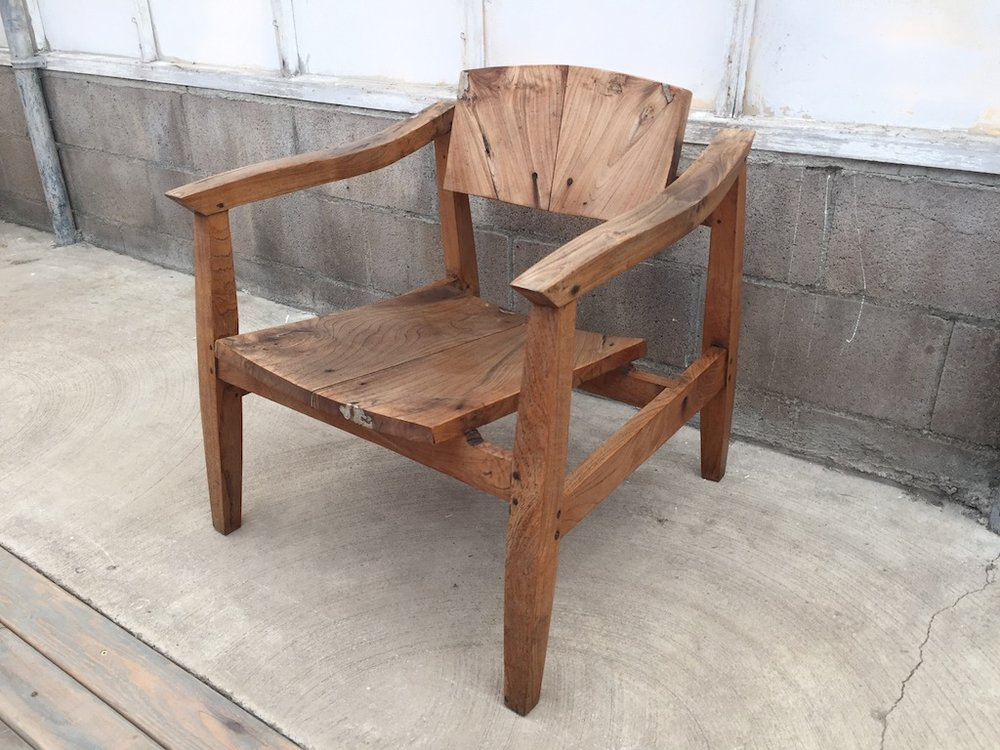 Weathered Summerland Chair