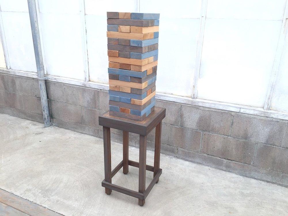 XL Jenga with Table