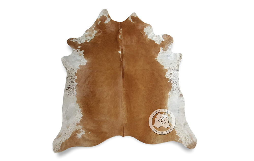 Cow Hide (Brown & White)