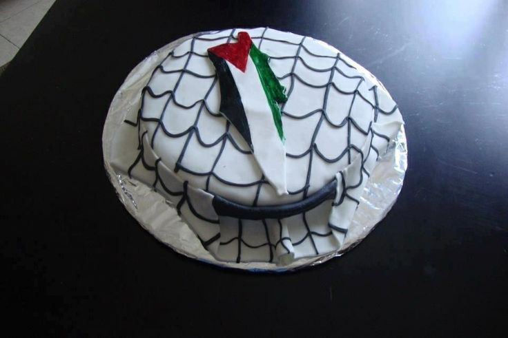 Keffiyeh Cake
