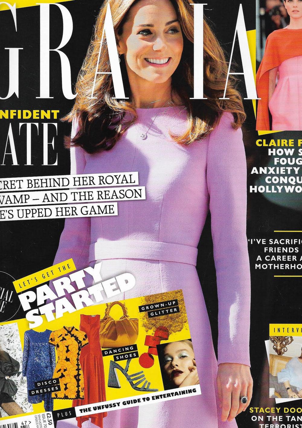 Grazia Magazine Joudie kalla