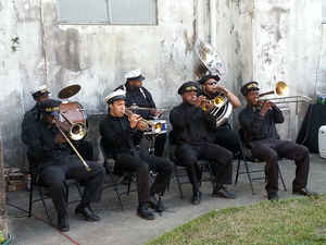 Free Agents Brass Band second line 4pm