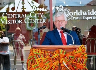 Central City now has its own official visitor center on the boulevard at 1724 Oretha Castle Haley Blvd.