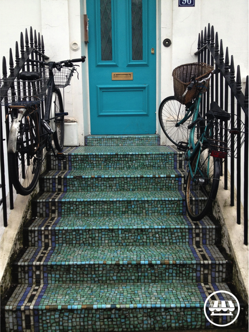 A London Door in Chelsea