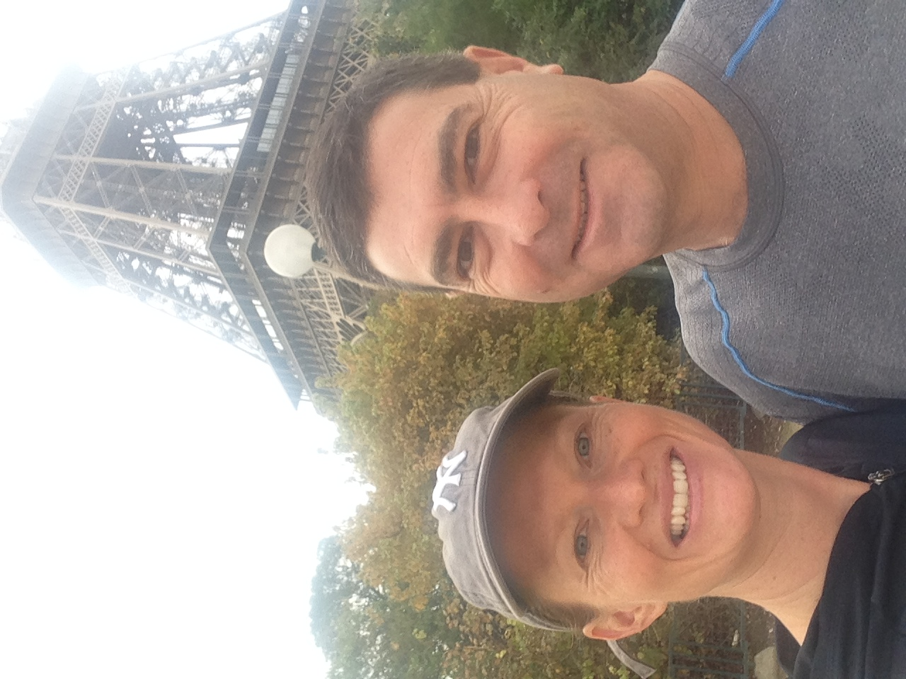 Charmian and Andrew - Les 20Km in Paris