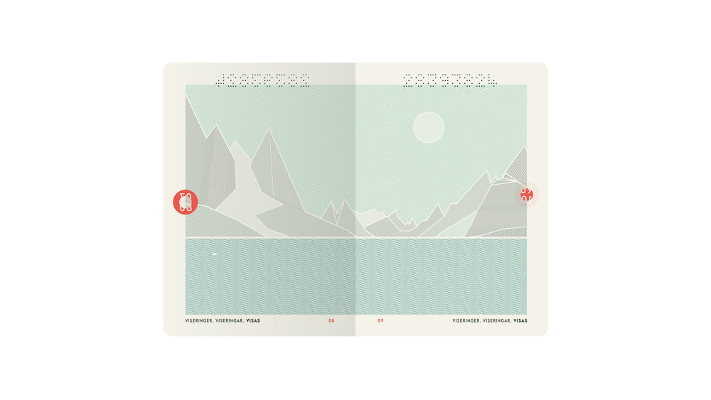 New Norwegian Passports. Courtesy of Neue Design Studio