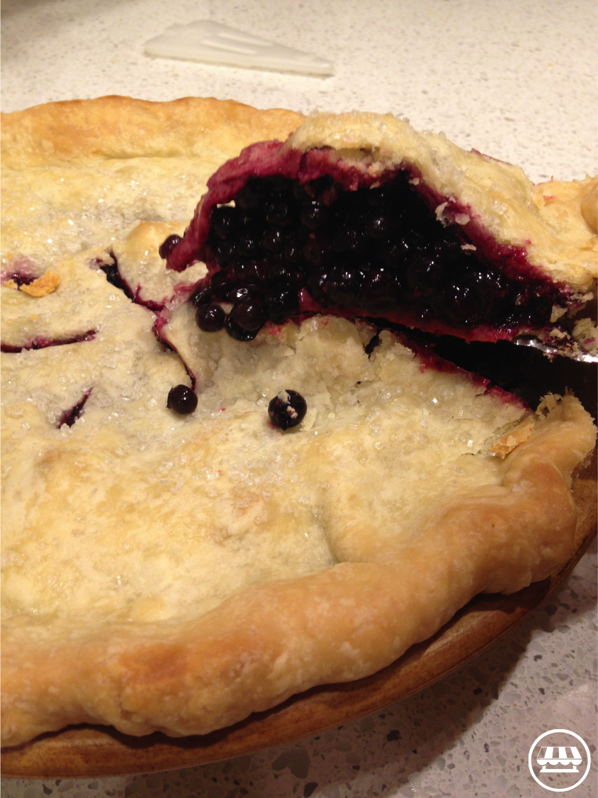 Wandas Blueberry Pie