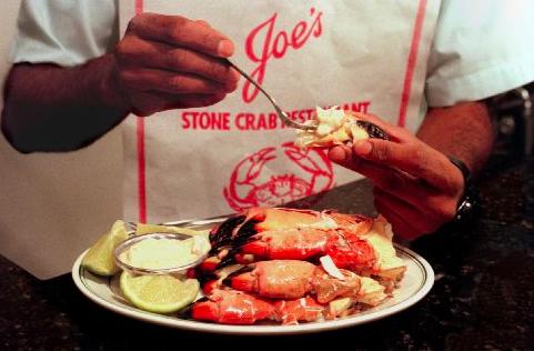 Hands on at Joe Stone Crab!