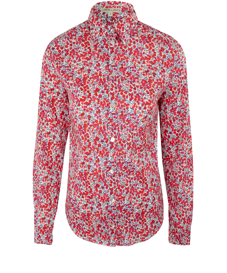 Classic  Liberty London  Print Shirt. You would not need more than this print in your look.