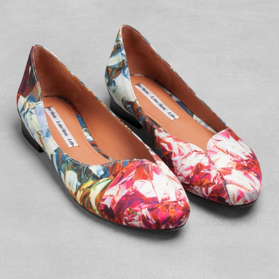 Kaleidoscope Flats  And Other Stories . This was a great print this season from this brand I love.
