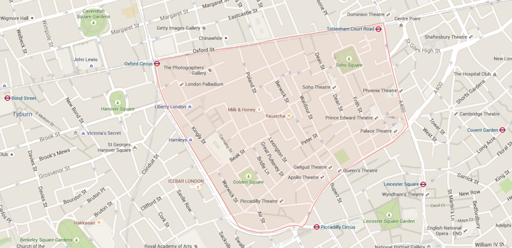 Soho Perimeter in London