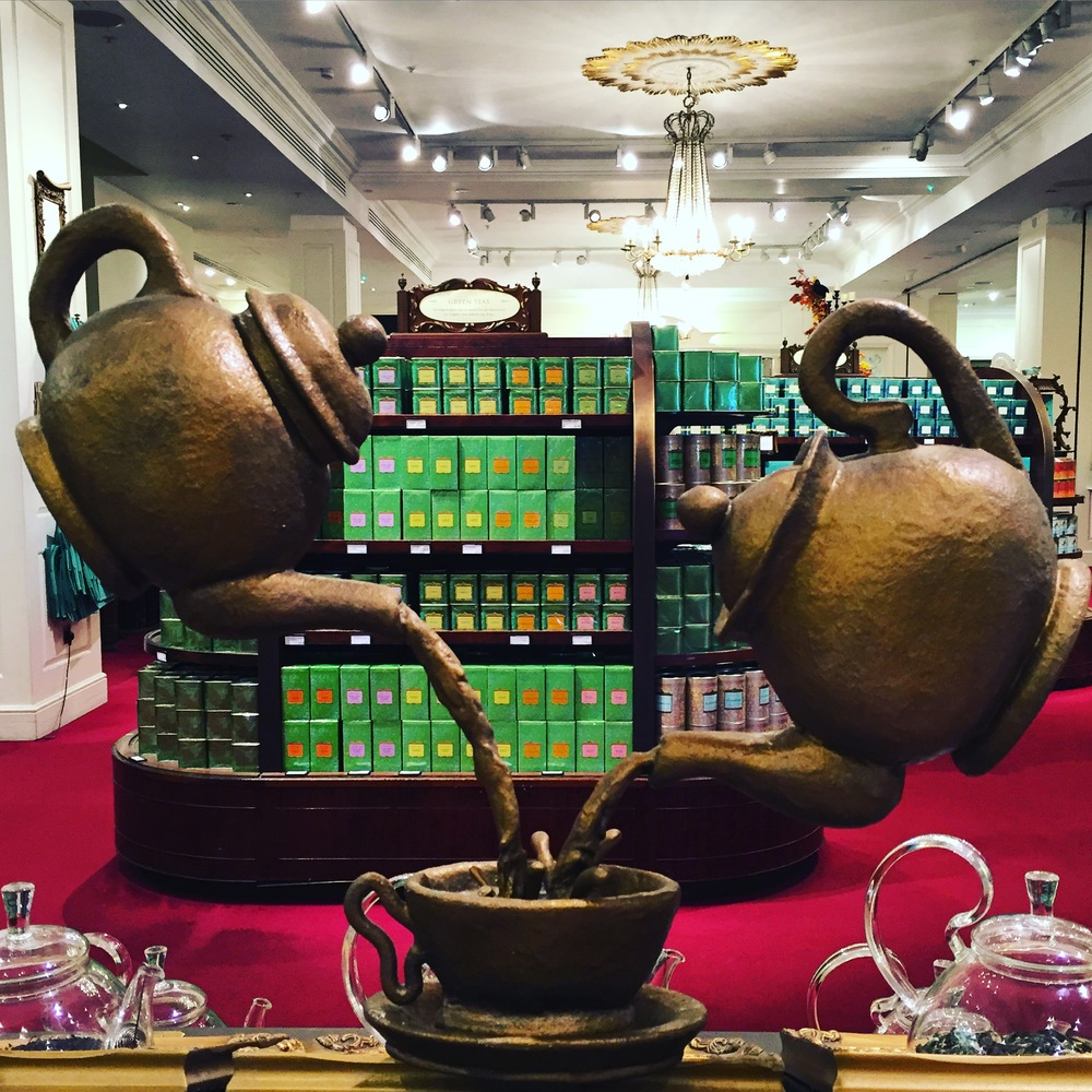 Fortnum and Mason carries amazing tea. Stop by the shop afterwards and get some!