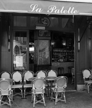 Photo courtesy of www.cafelapaletteparis.com