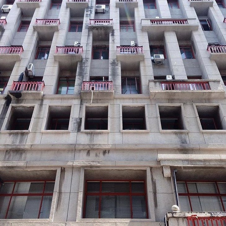 URSS-like architectural legacy in Maputo.