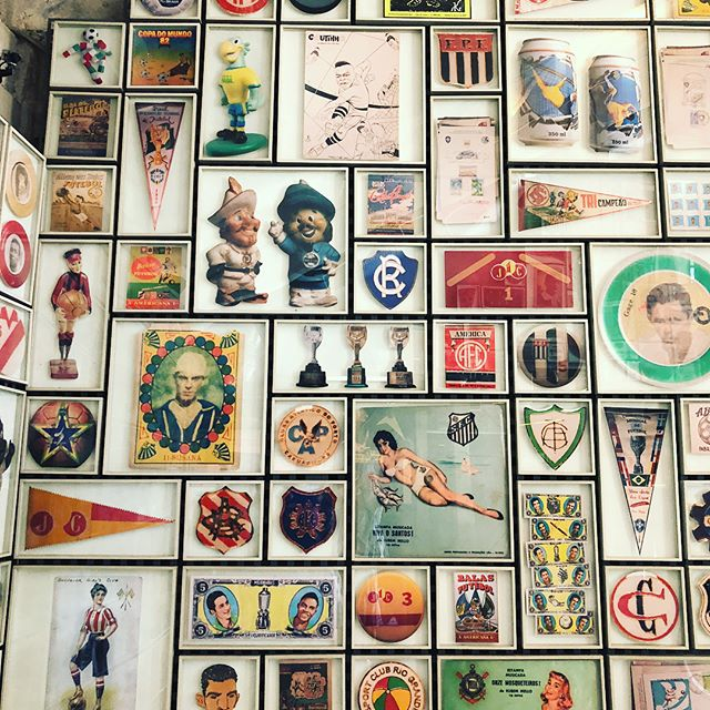 An unmissable experience in São Paulo is a visit to the Museu do Futebol (The Football Museum). It is 🇧🇷 after all! ⚽️ 👊🏽