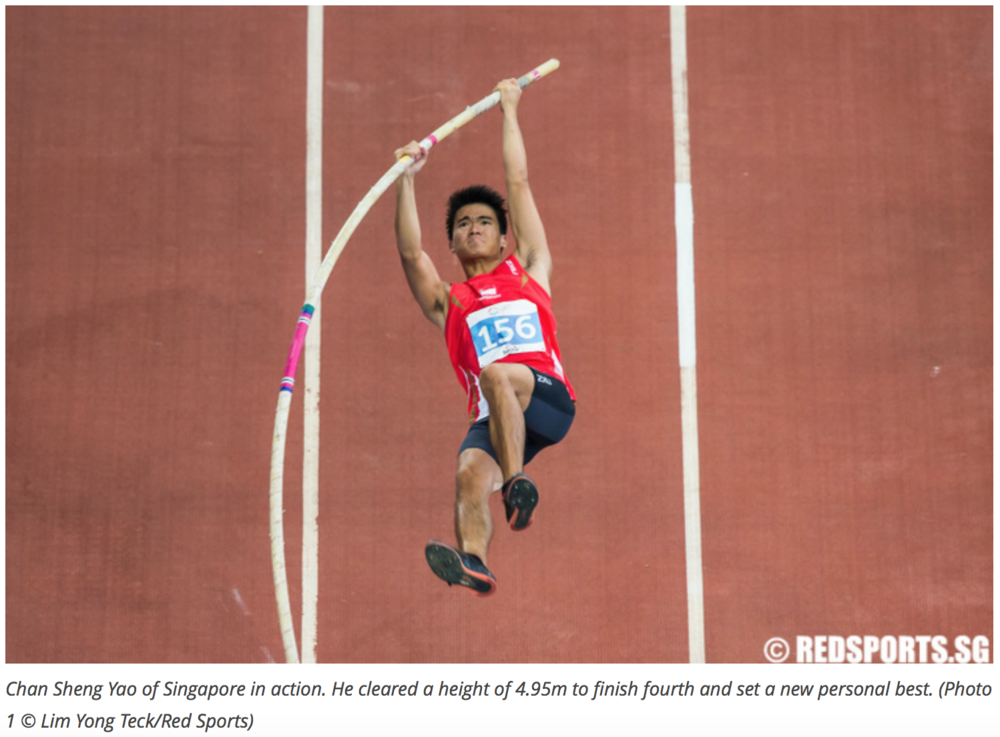 Men's pole vault, 28th Southeast Asian Games for Red Sports (www.redsports.sg)