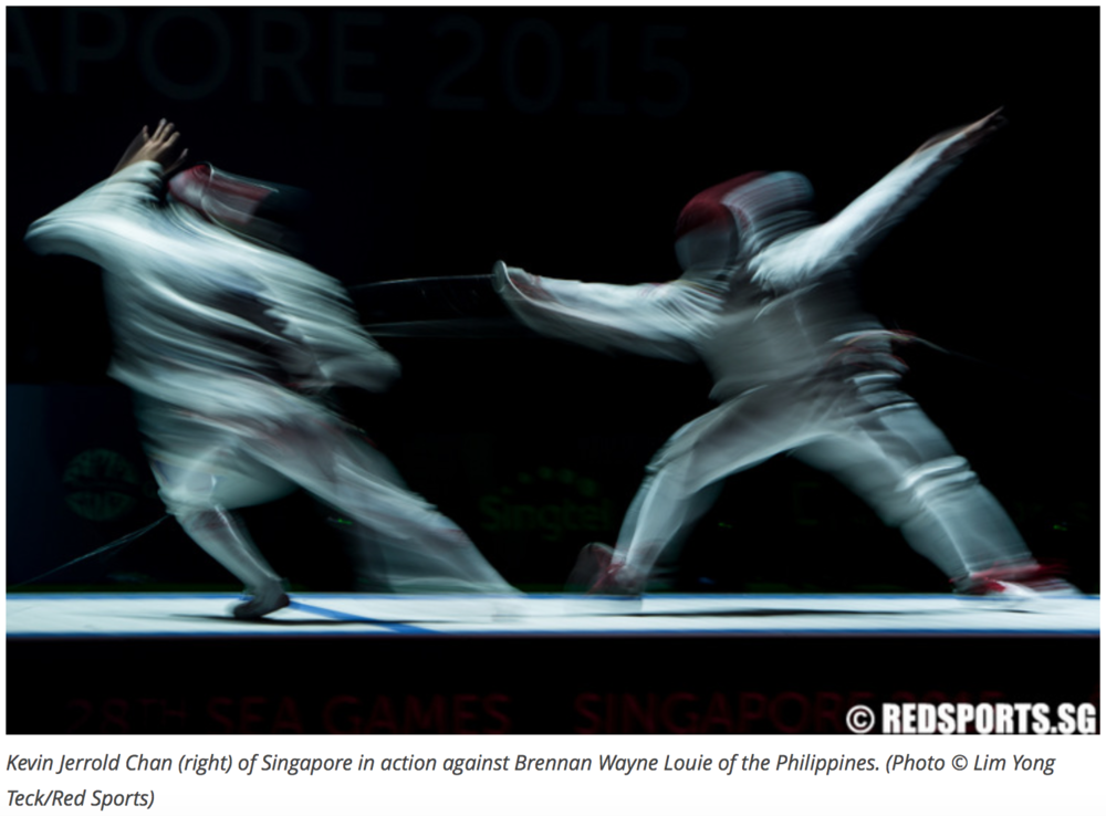 Fencing, 28th Southeast Asian Games for Red Sports (www.redsports.sg)