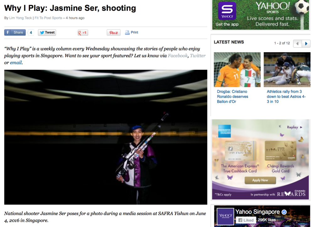 Jasmine Ser feature for Yahoo! (www.yahoo.com)