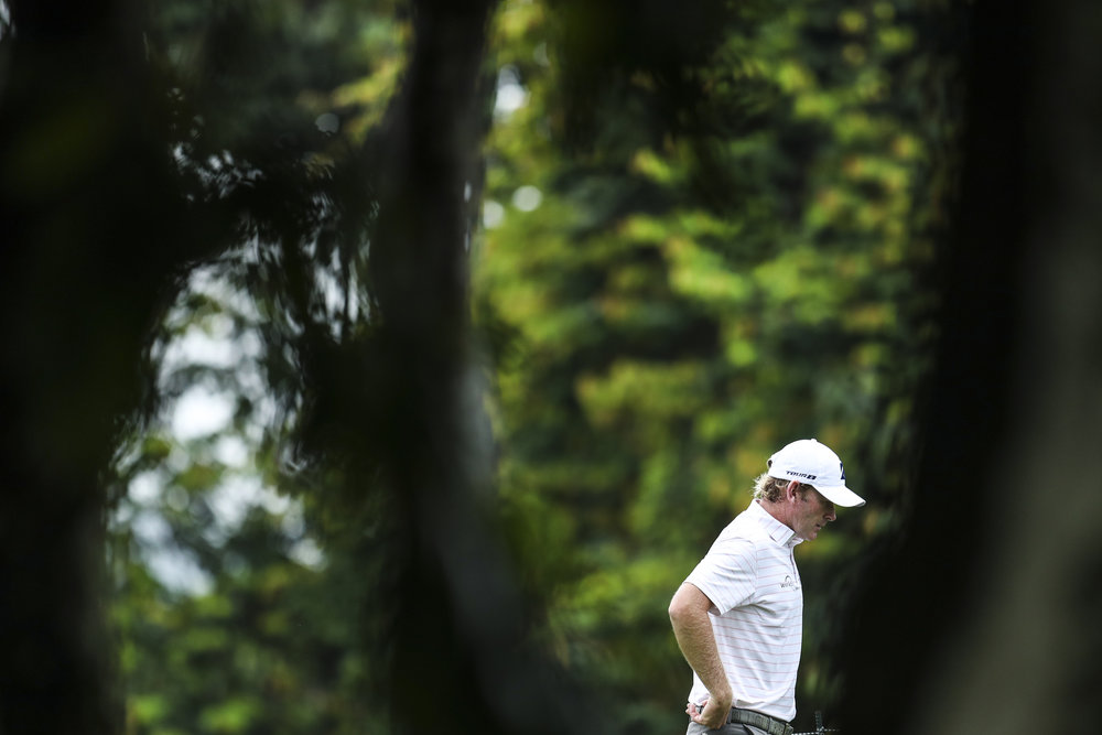 KUALA LUMPUR, MALAYSIA - OCTOBER 12: Brandt Snedeker of the United States walks to the 13th hole during round two of the CIMB Classic at TPC Kuala Lumpur on October 12, 2018 in Kuala Lumpur, Malaysia. (Photo by Yong Teck Lim/Getty Images)