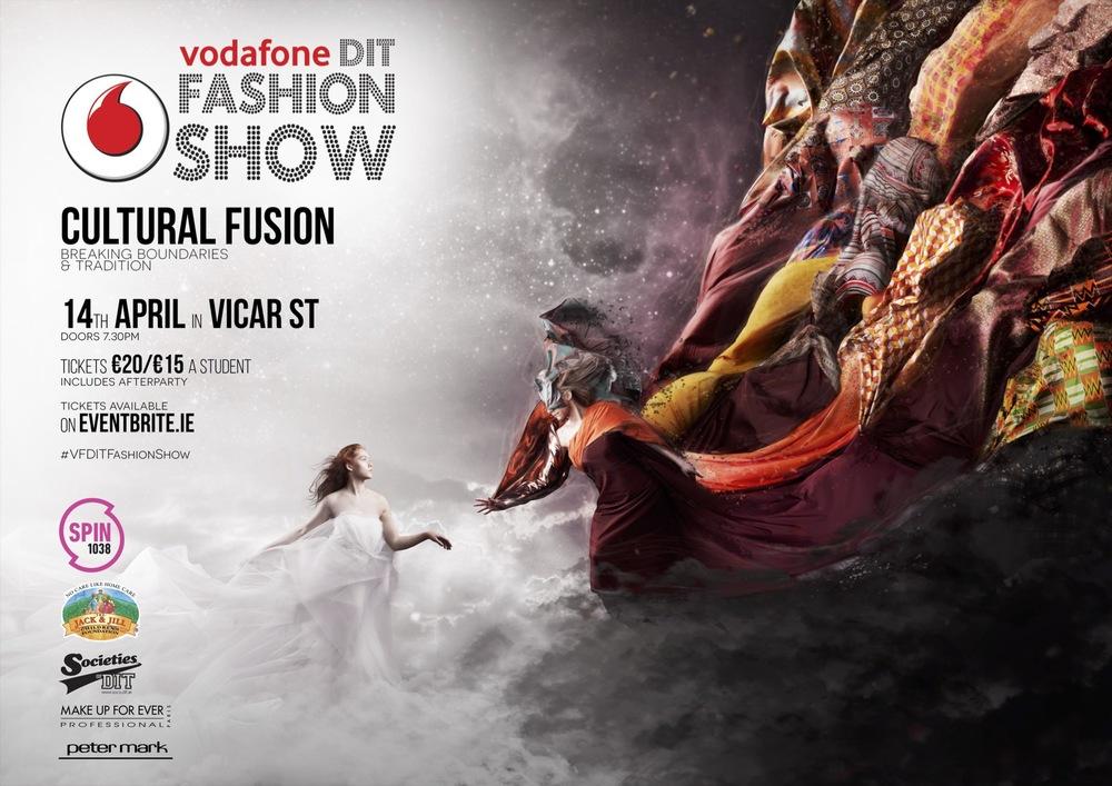 Vodafone DIT Fashion Show 2015 — Third Mind Design