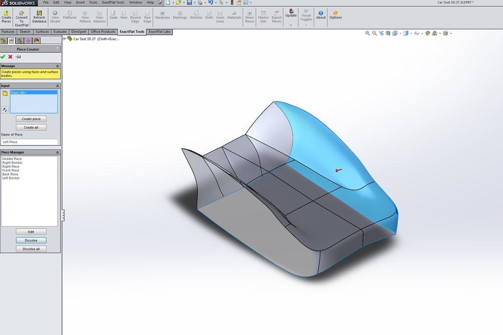 ExactFlat - Pattern Piece Creator