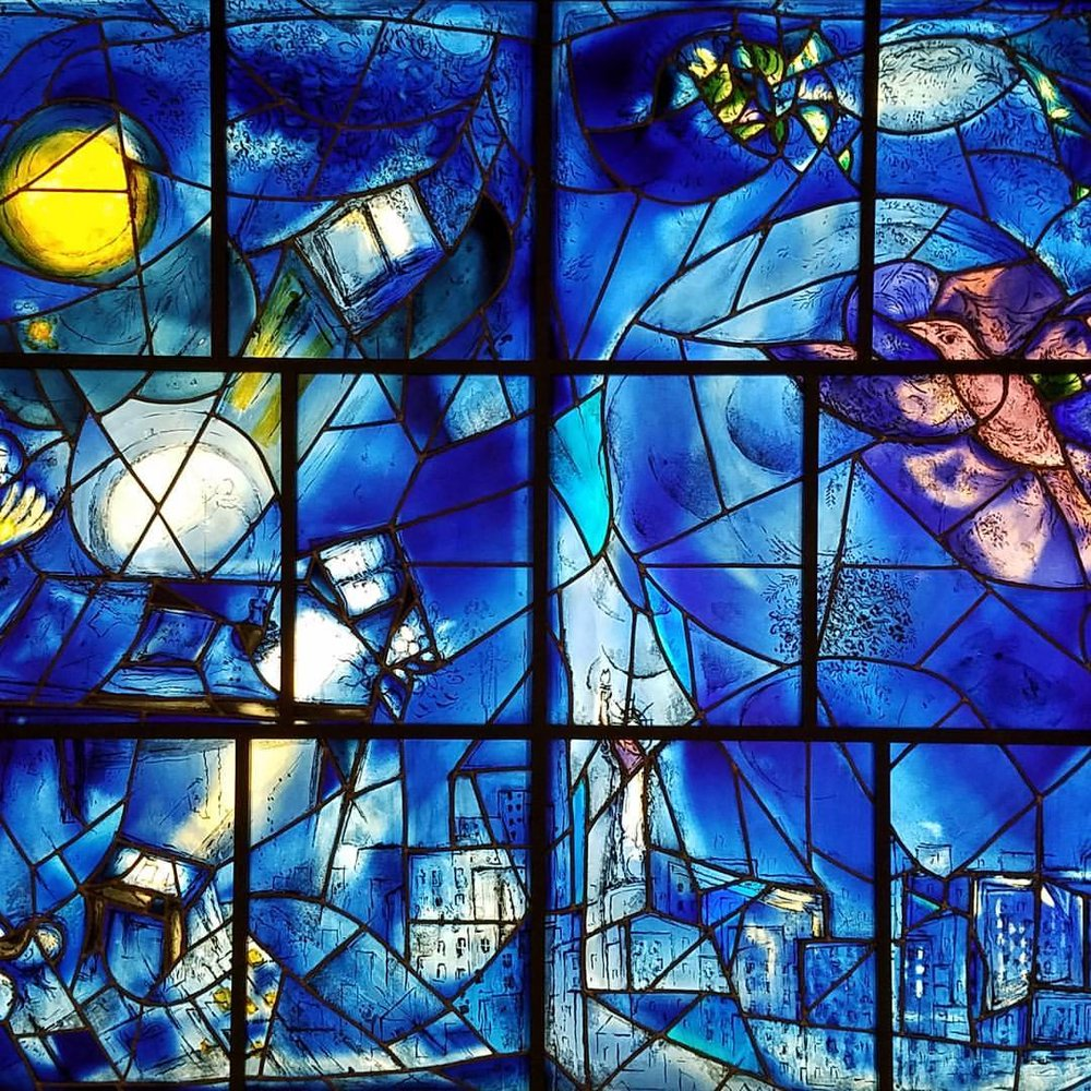 Marc Chagall's America's Windows @ The Art Institute of Chicago