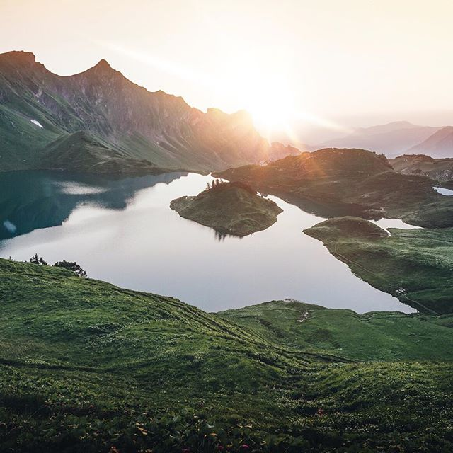 exactly one year ago i visited the schrecksee. although the climb was hard watching the sunset in 1.800m with this view was just worth it. finally the next adventure starts at the weekend. i will travel to south tyrol to explore that region. any recommendations?