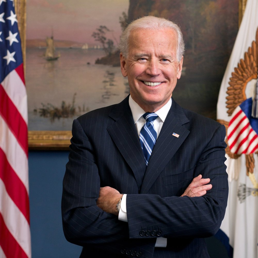 The Honorable Joe Biden Former Vice President of the United States