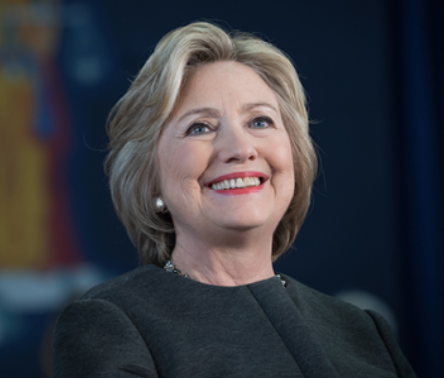 Hillary Clinton    @HillaryClinton   Former U.S. Secretary of State and U.S. Senator from New York
