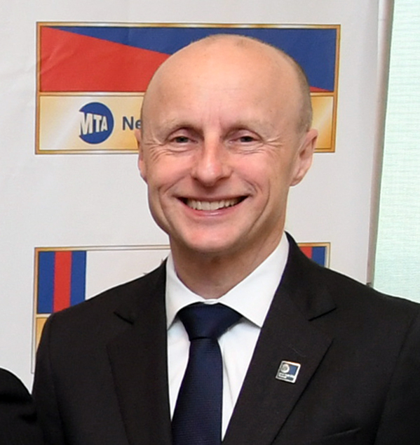 Andy Byford   @ NYCTSubway   President of New York City Transit