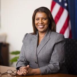 Letitia James   @   TishJames   New York City Public Advocate