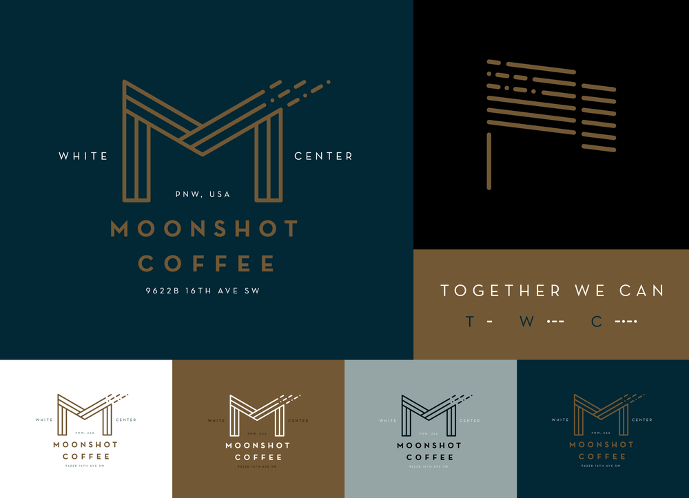 Moonshot Coffee BRANDING