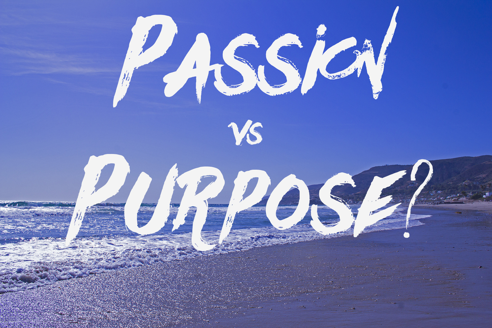 passion vs purpose chris ruggiero