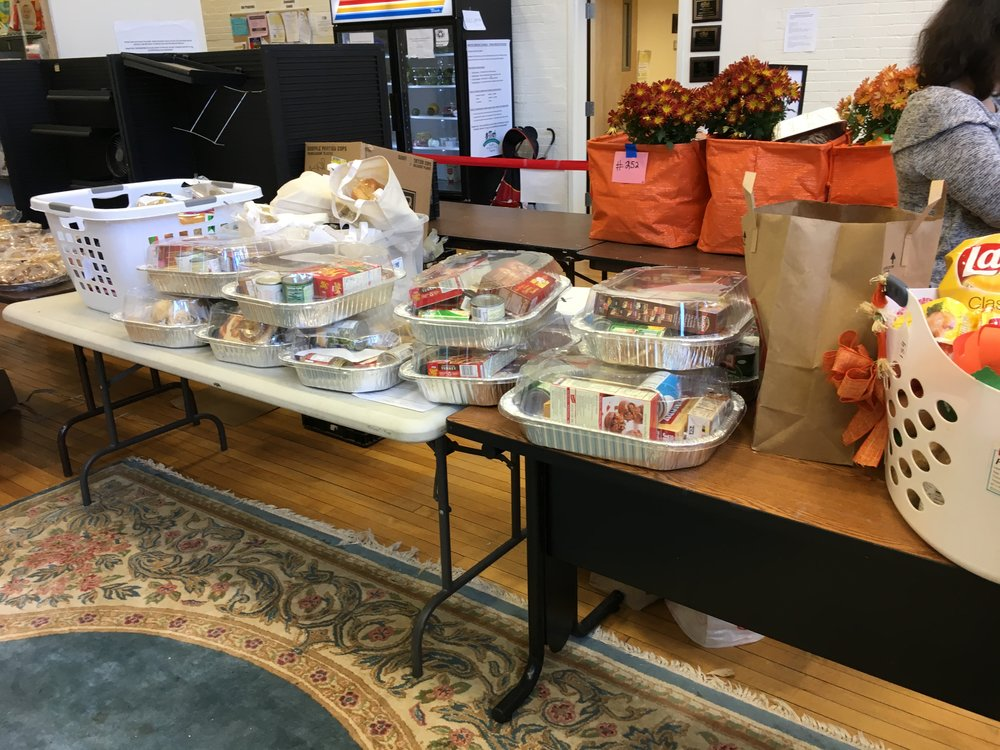 Put together 10 Thanksgiving meals to be donated to Natick families through the Natick Service Council.