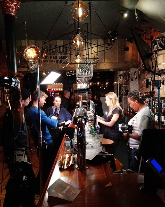 Bts from Fridays shoot, long but fun day. You can never go wrong shooting for a pub chain.  #shoot #advertising #film #filmaking #videography #director #photographer #production #producer #crew #bts #shootlife #bar #pub #London #blackheath #photoshoot #cocktail #cocktailparty