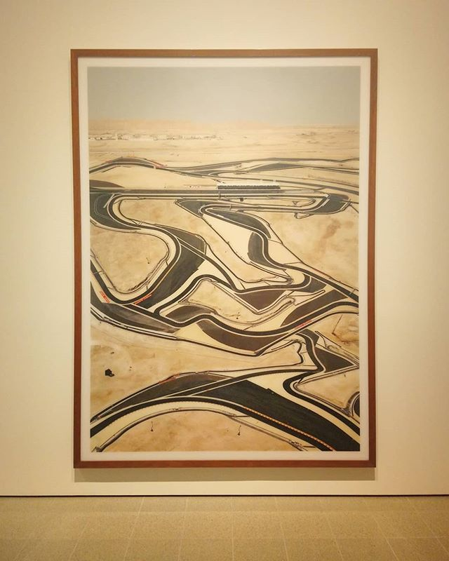 Gursky @ the Hayward Gallery.  Some remarkable shots on display, certainly worth a visit.  #gursky #photographer #photography #London #Landscape #Artist #haywardgallery