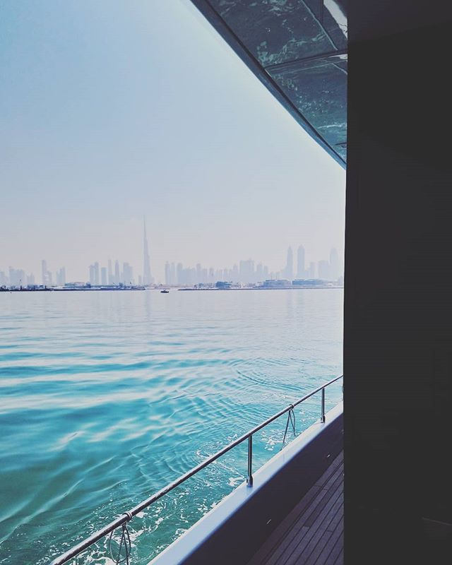 At sea, in Dubai, with my friend vitamin D.  Today was a good day.  #dubai #uae #photographer #commission #yachtweek #2018 #sun #travel #sailing #atsea #yacht #concept #London #sea #shoot #advertising