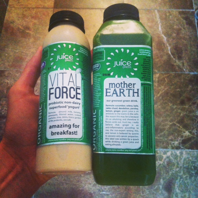 Vital Force and Mother Earth:  a dynamic duo for gut health and detoxification.