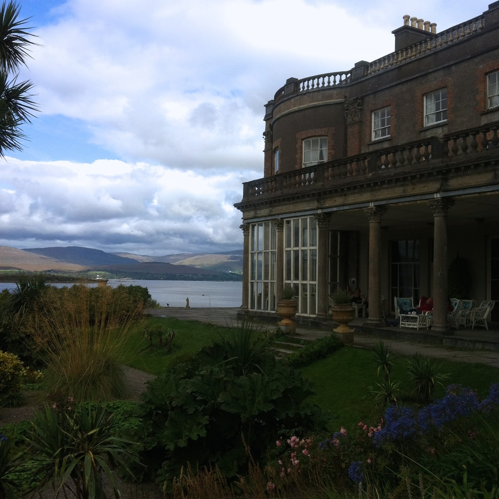 Bantry House With A View of Bantry Bay