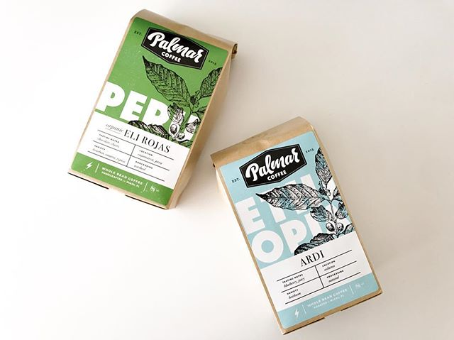 We are down to our last batch of our Ethiopia Ardi & Peru Eli Rojas. If you loved these coffees as much as we did, grab one from the shelves @creamparlor or our web store! ⚡️✌🏼 #palmarcoffee