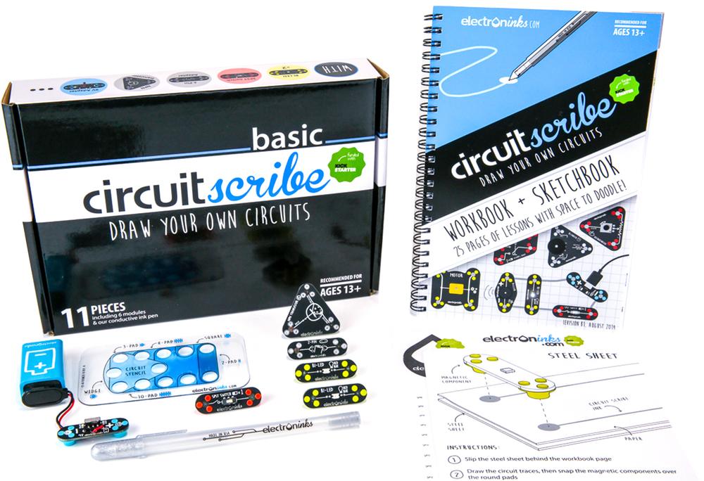 Circuit Scribe Basic Kit + Book $59.99