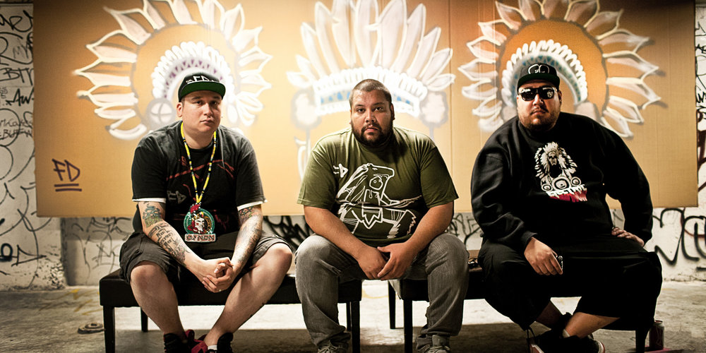 A Tribe Called Red (playing Friday 3/10 @ Club One)