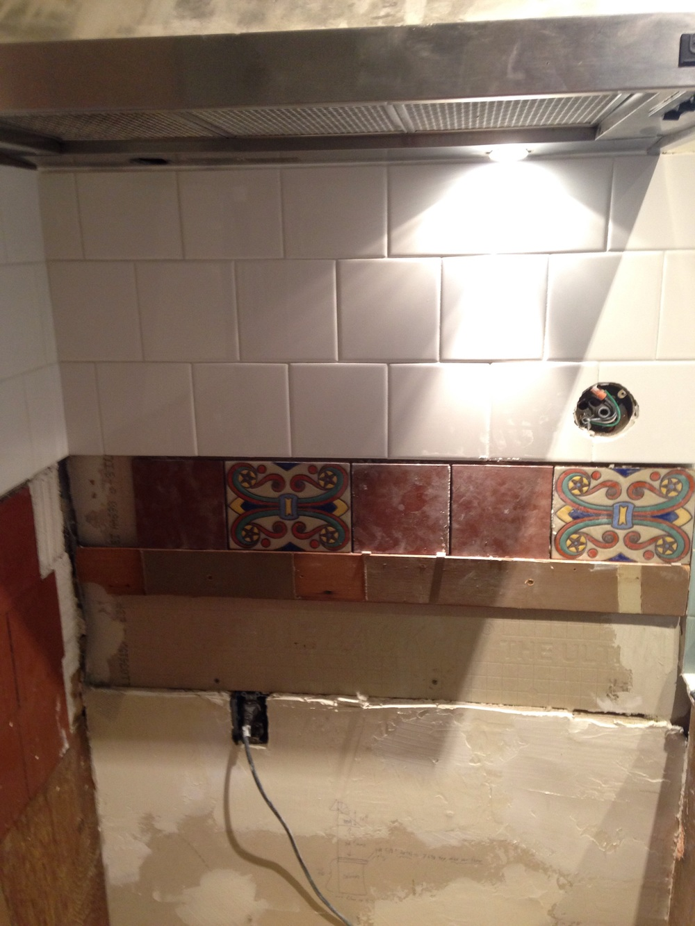 Set first row. Tiling down is not the natural way