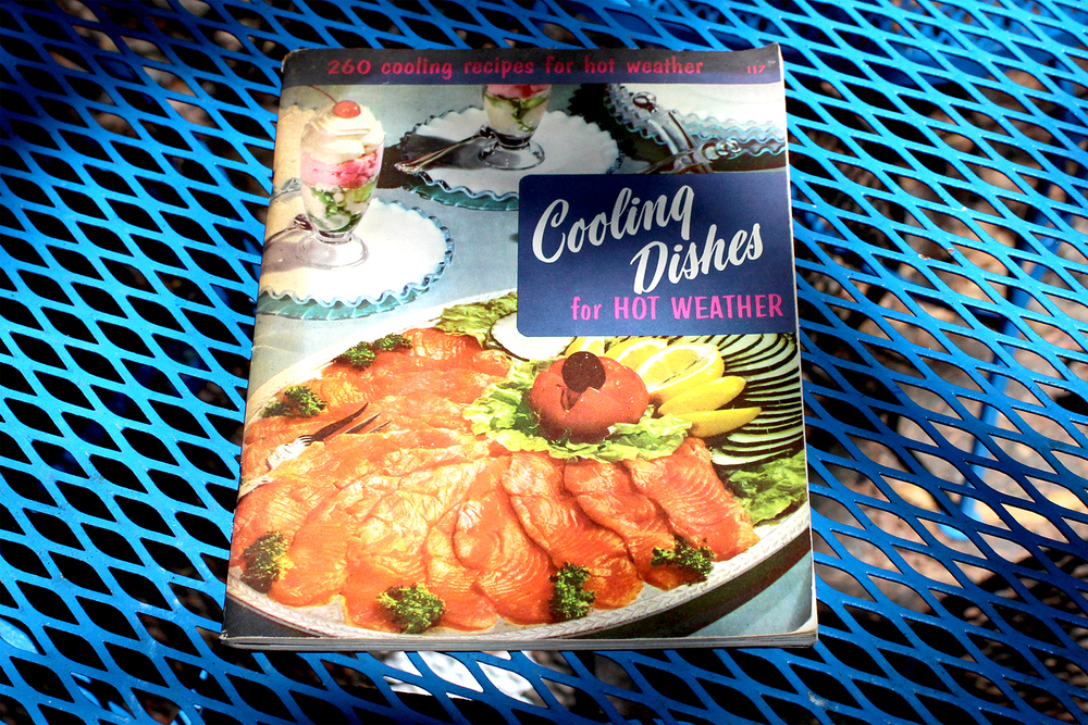 "retro ""Cooling Dishes"" cookbook for $2"